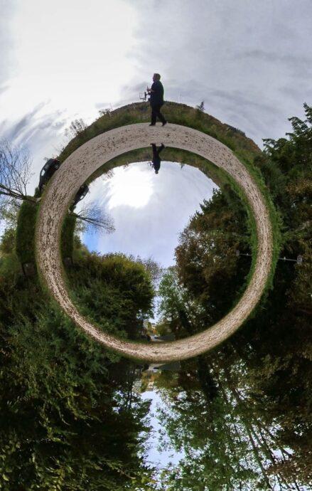 Insta360 Shotlab Tinyplanet Effekt