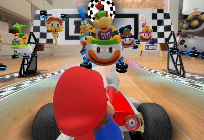 Mario Kart Live Header