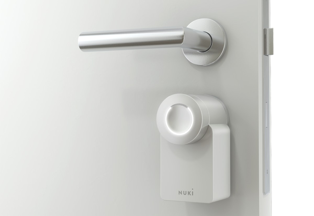 Nuki Smart Lock White Weiss