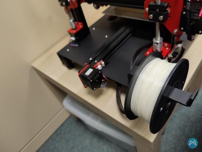 Ortur Obsidian 3d Drucker Printer Filamentrollenhalter