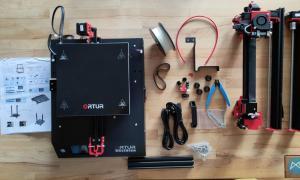 Ortur Obsidian 3d Drucker Printer Lieferumfang