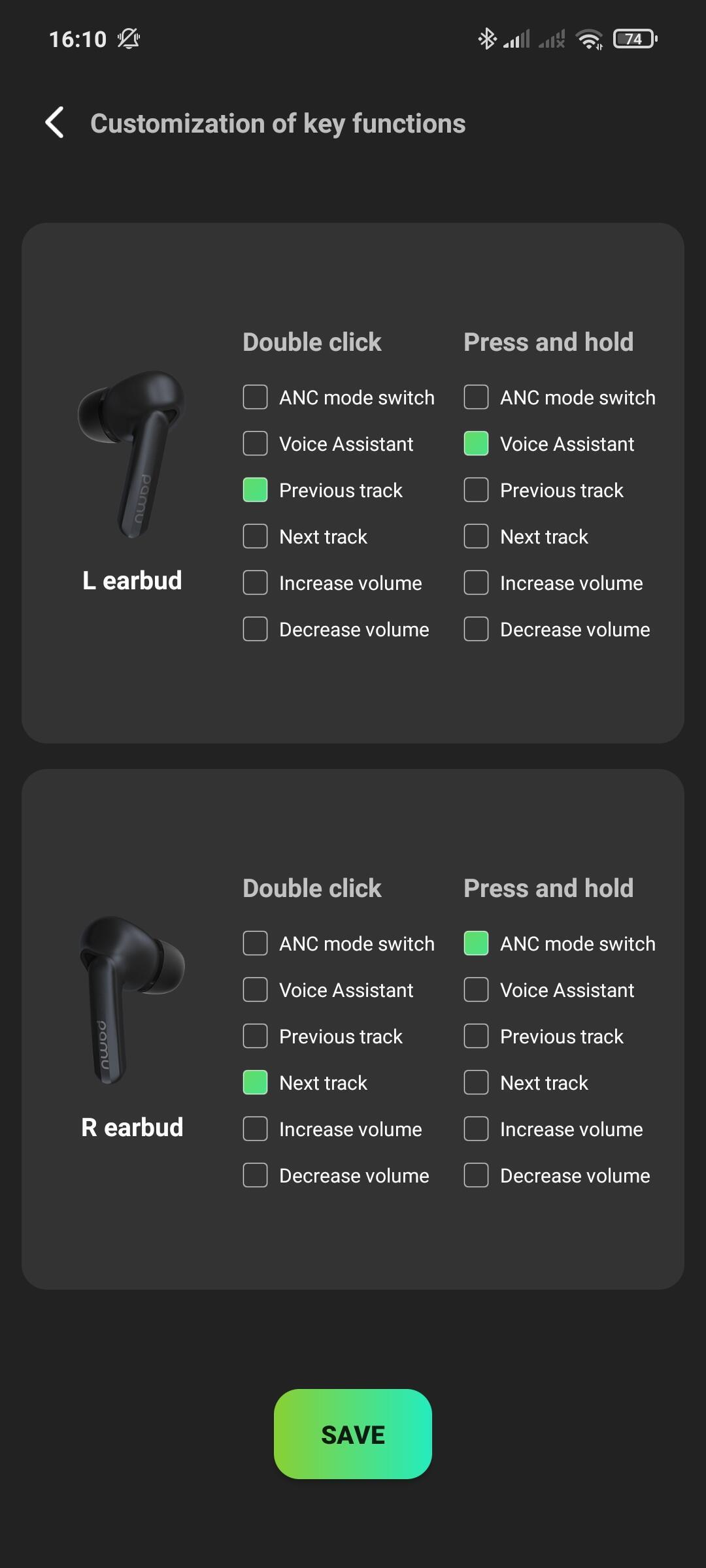 Pamu Quiet App 2
