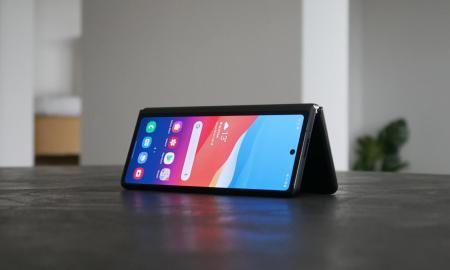 Samsung Galaxy Z Fold 2 Tisch Header