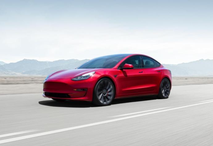 Tesla Model 3 2021 Header