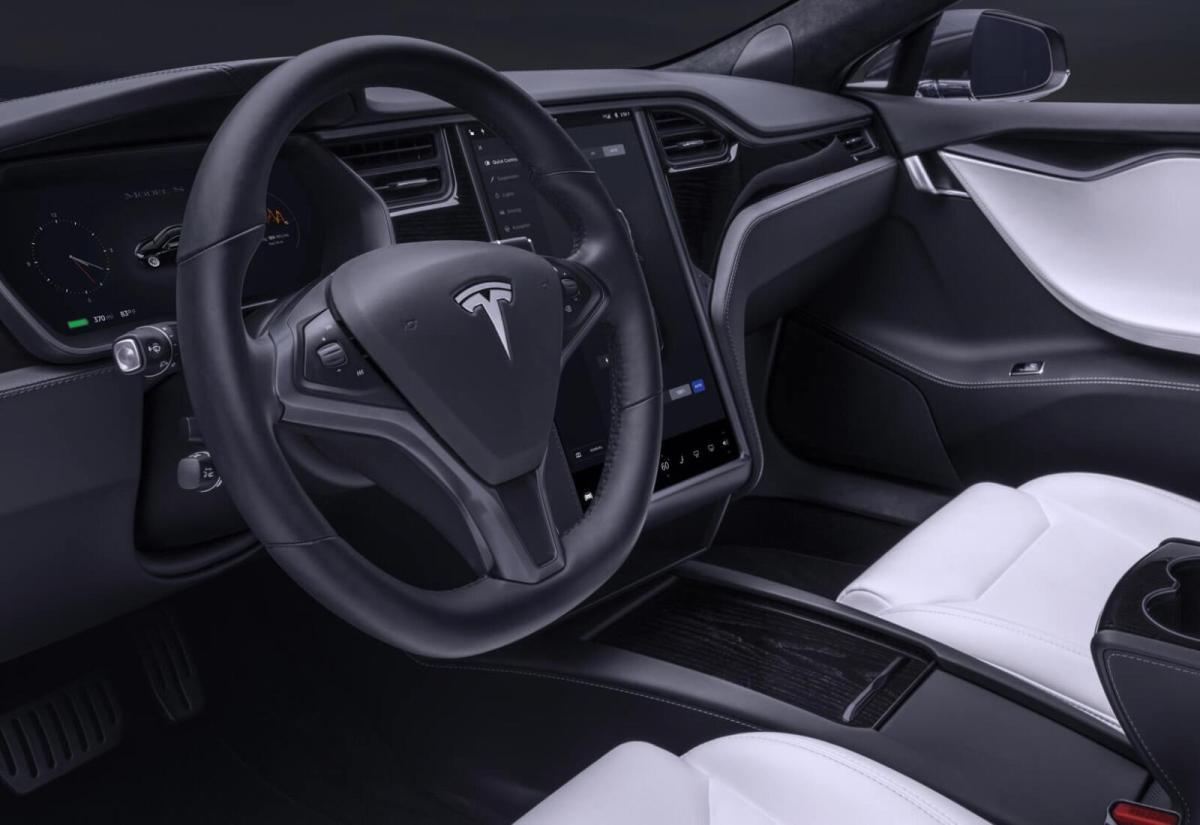 Tesla Model S Innen Header