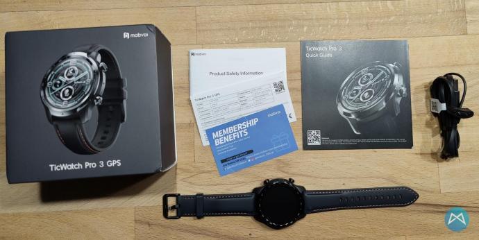 Ticwatch Pro 3 Lieferumfang