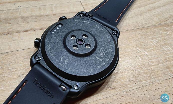 Ticwatch Pro 3 Unterseite Sensoren