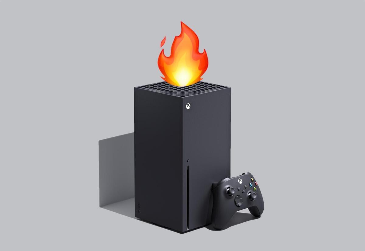 Xbox Series X Flamme