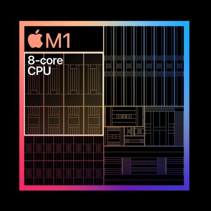 Apple M1 Aufbau