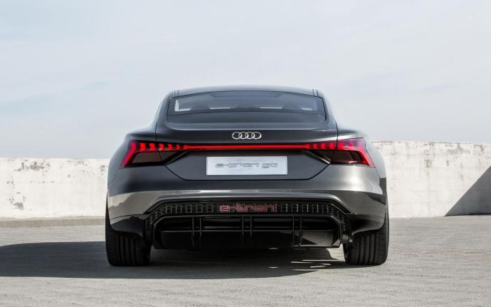 Audi Etron Gt Konzept Licht