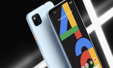 Google Pixel 4a Blau Header