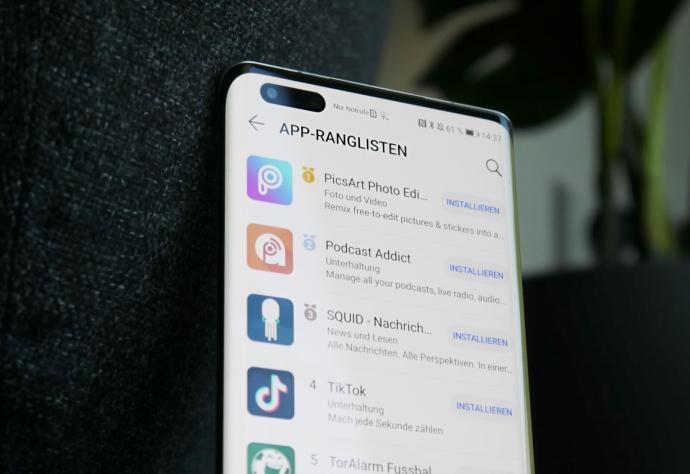 Huawei Appgallery Rangliste
