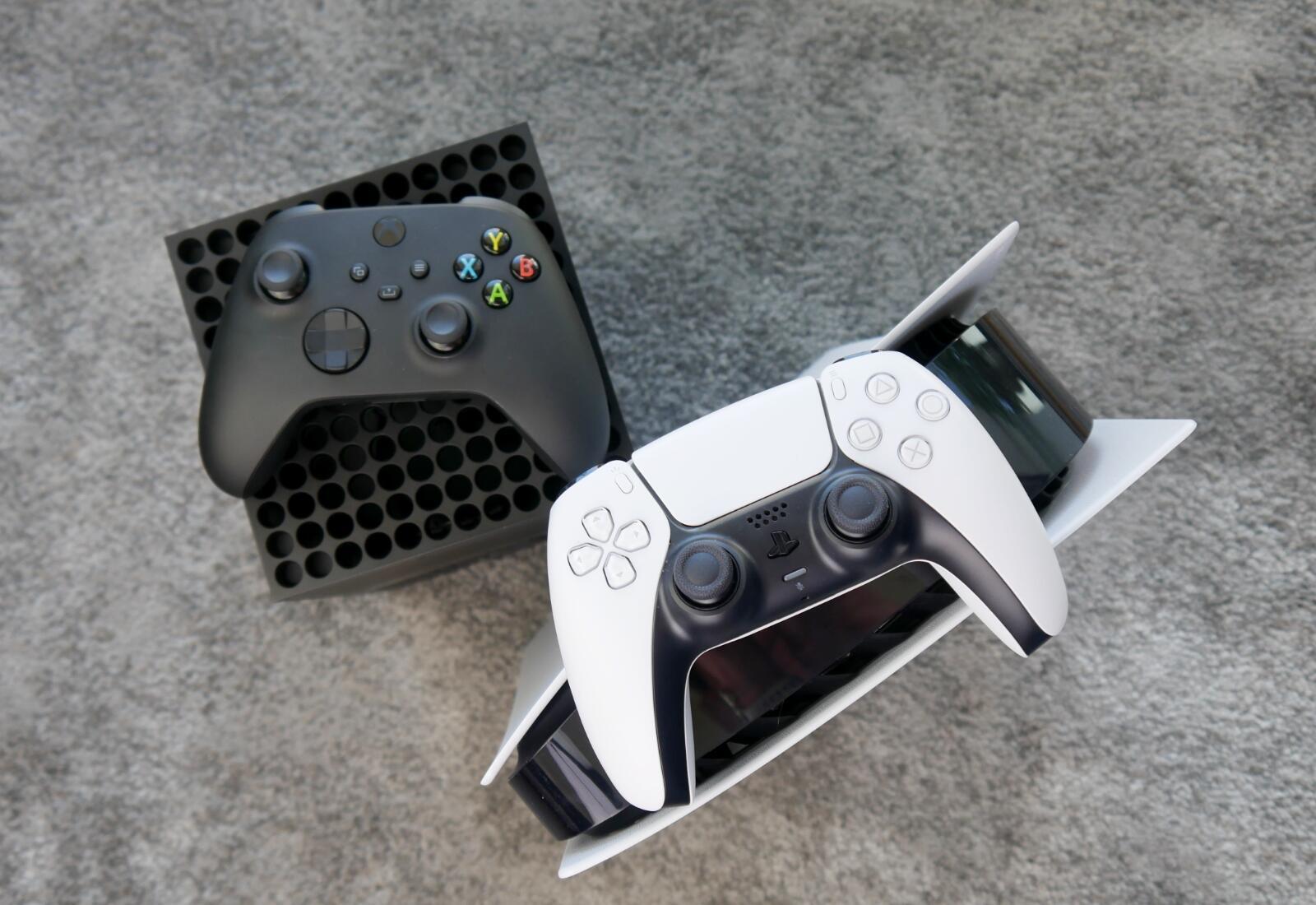 Playstation 5 Xbox Series X Oben Header