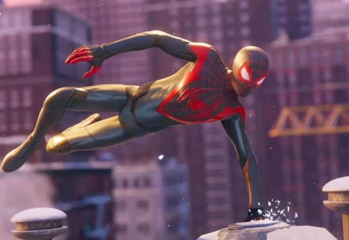 Spider Man Playstation Header