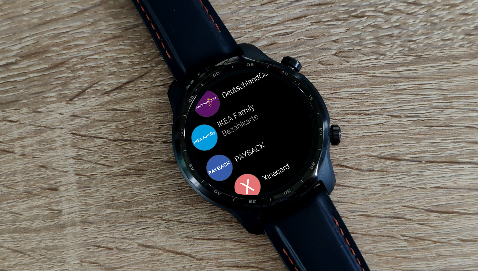 Ticwatch Pro 3 Stocard