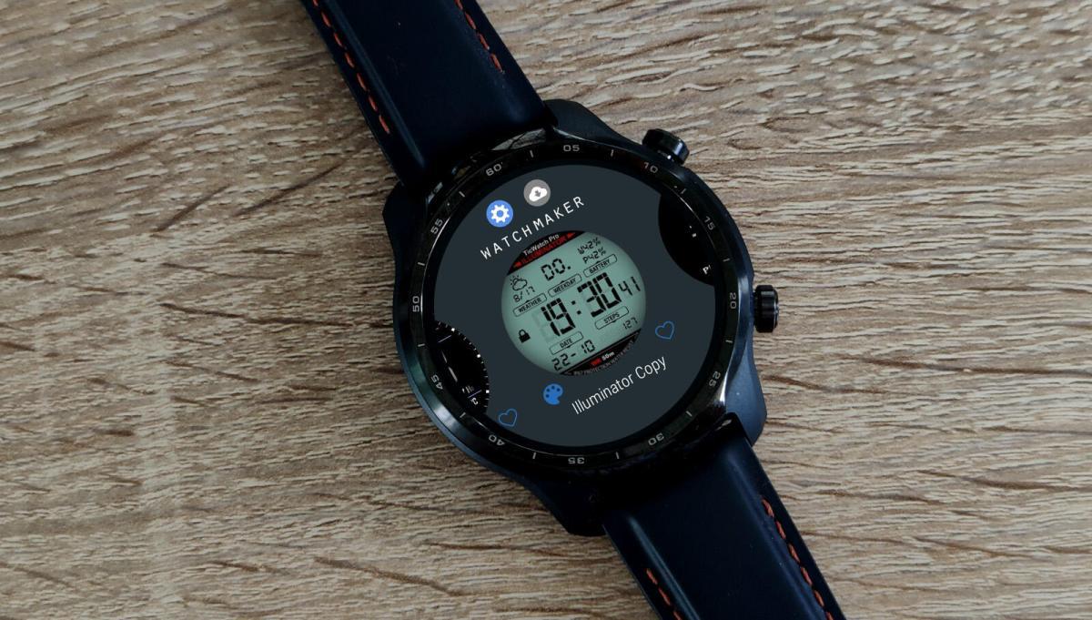 Ticwatch Pro 3 Watchmaker