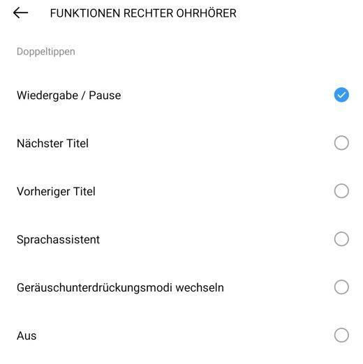 Touch Bereich Steuerung+