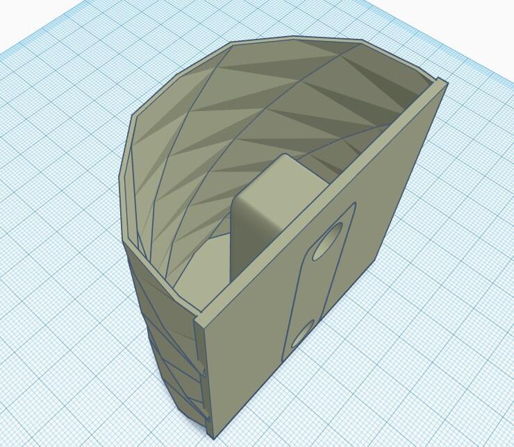 3d Design Tinkercad Stiftehalter