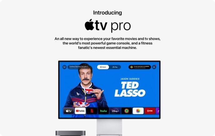 Apple Tv Pro Konzept Start