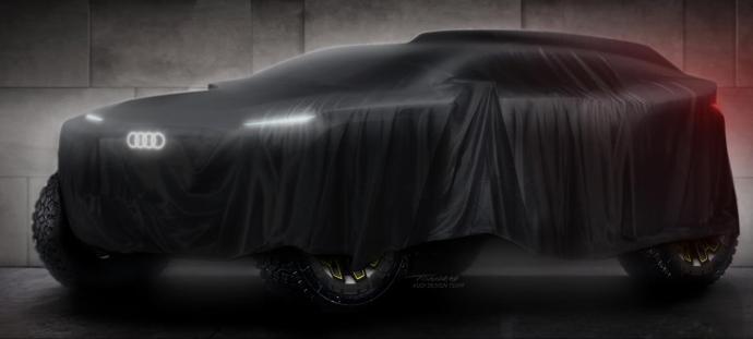 Audi Elektro Rallye Teaser