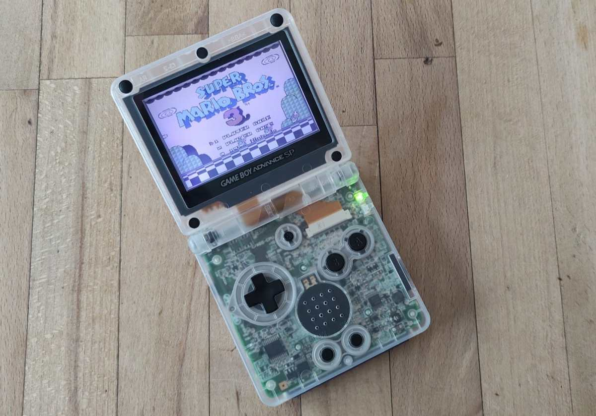 Gba Advance Sp Transparentes Case