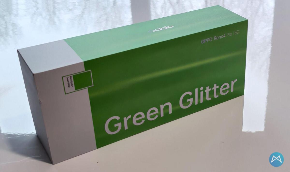 Oppo Reno4 Pro 5g Green Glitter (1)