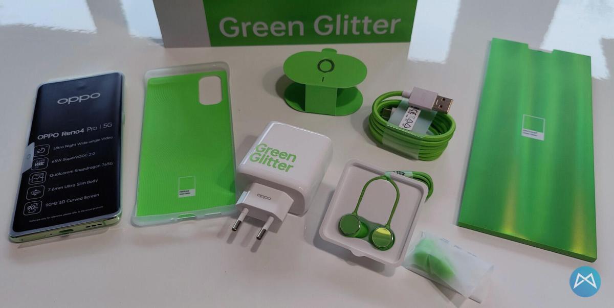 Oppo Reno4 Pro 5g Green Glitter (11)