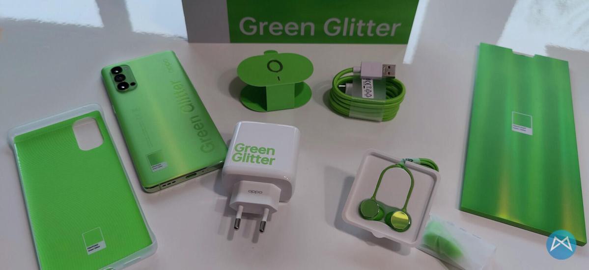 Oppo Reno4 Pro 5g Green Glitter (12)