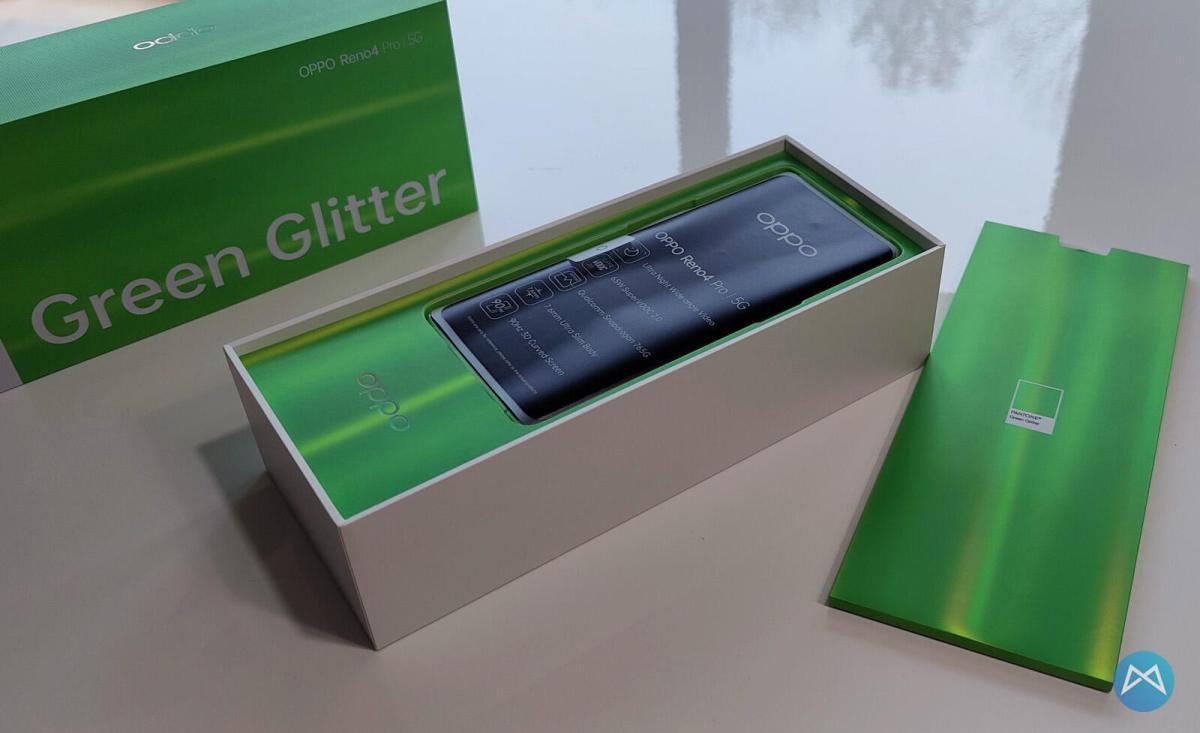 Oppo Reno4 Pro 5g Green Glitter (3)