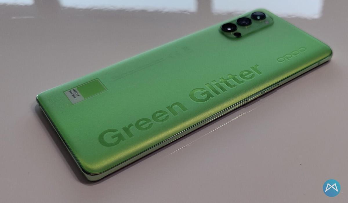 Oppo Reno4 Pro 5g Green Glitter (4)