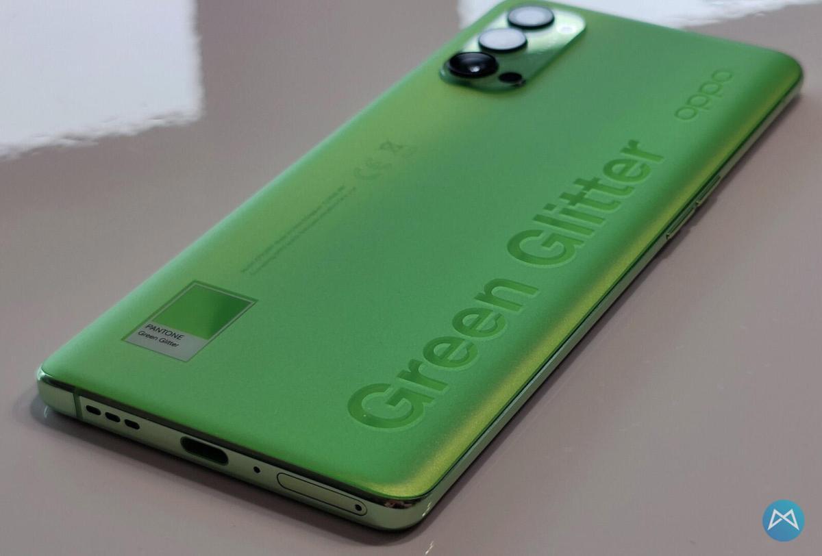Oppo Reno4 Pro 5g Green Glitter (7)