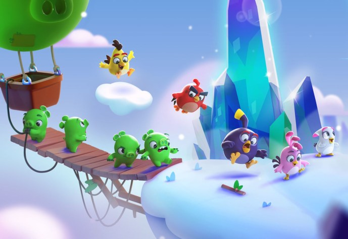 Angry Birds Journey Header