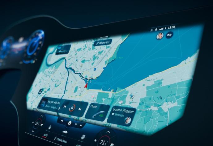 Mercedes Benz Mbux Hyperscreen Header