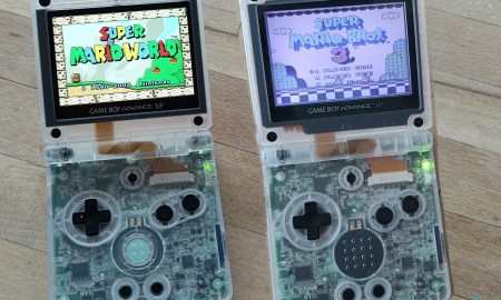 Nintendo Gameboy Advance Sp Display Und Case Umbau (4)