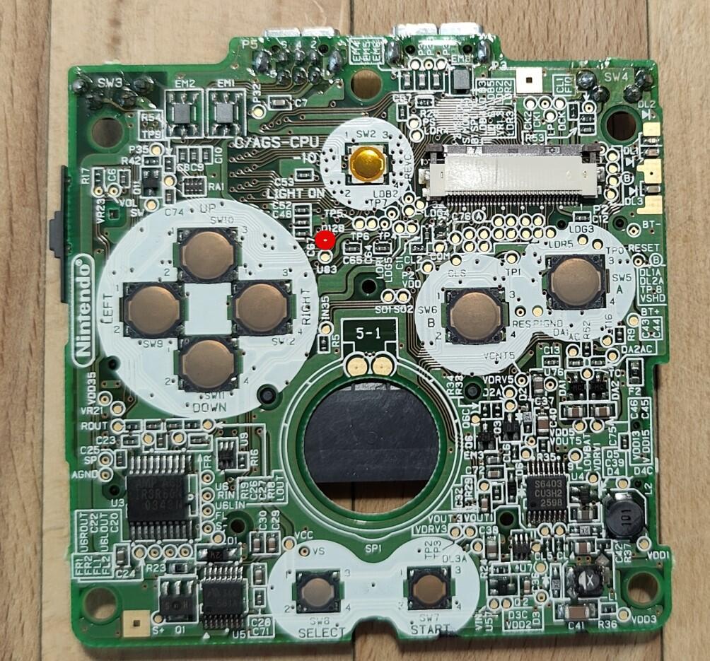 Nintendo Gameboy Advance Sp Display Und Case Umbau (5)