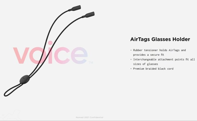 Nomad Aople Airtags Glass
