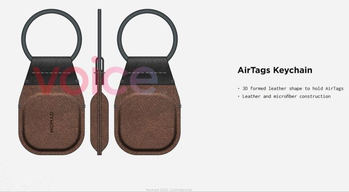 Nomad Aople Airtags Key