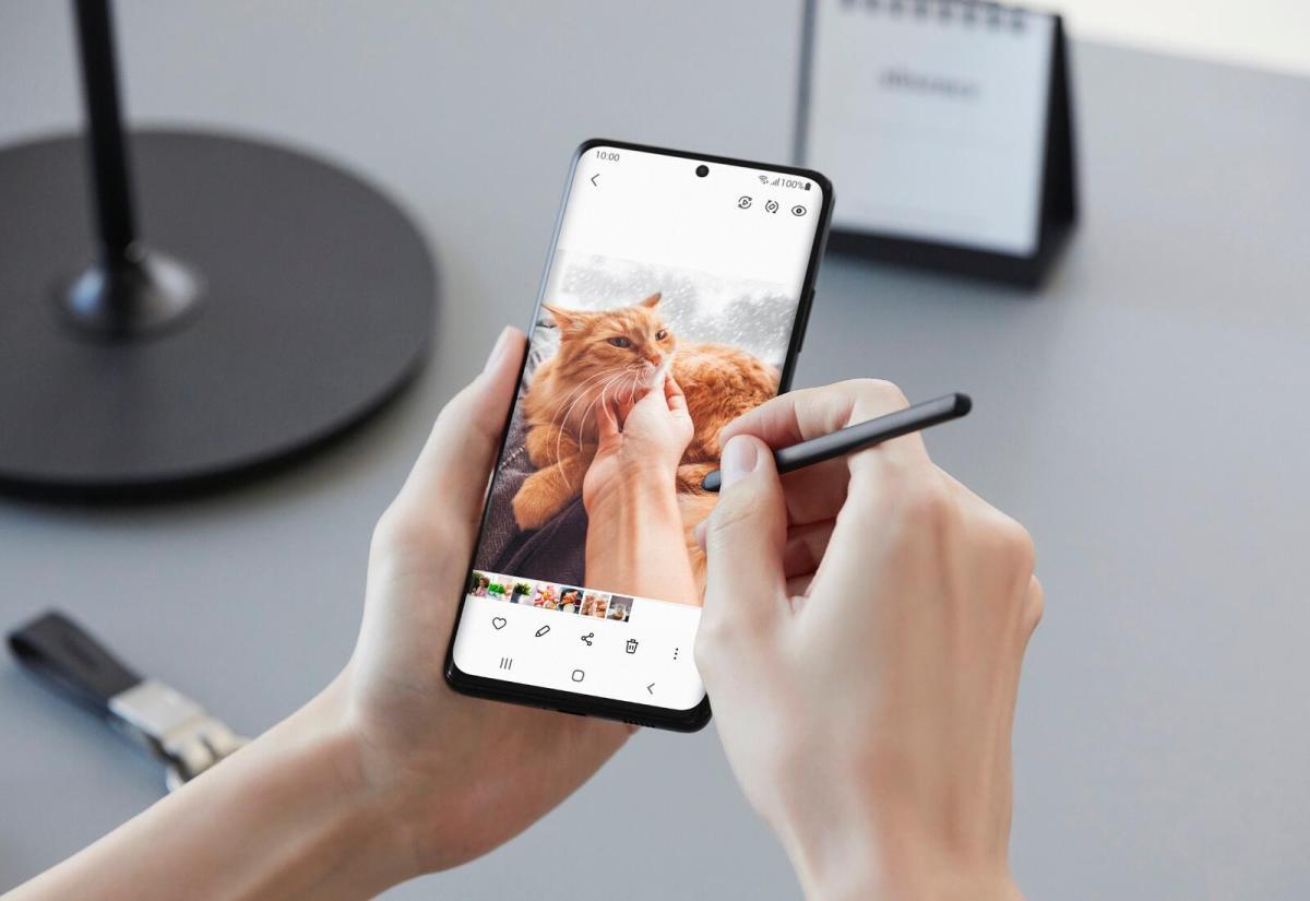 Samsung Galaxy S21 Ultra S Pen Header