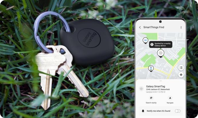 Samsung Galaxy Smarttag App