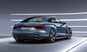 Audi Etron Gt Back