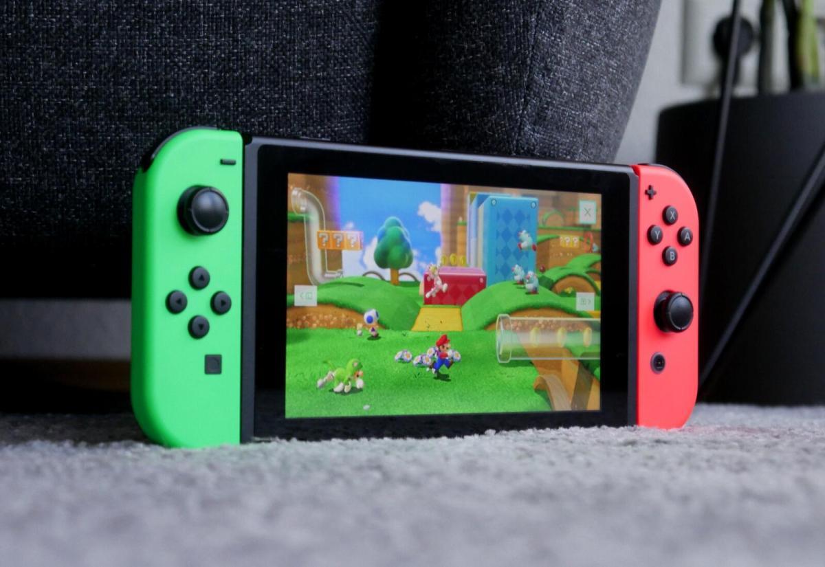 Nintendo Switch Super Mario 3d World Header