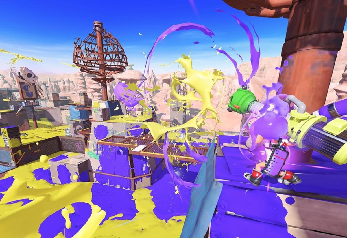 Splatoon 3 Gameplay