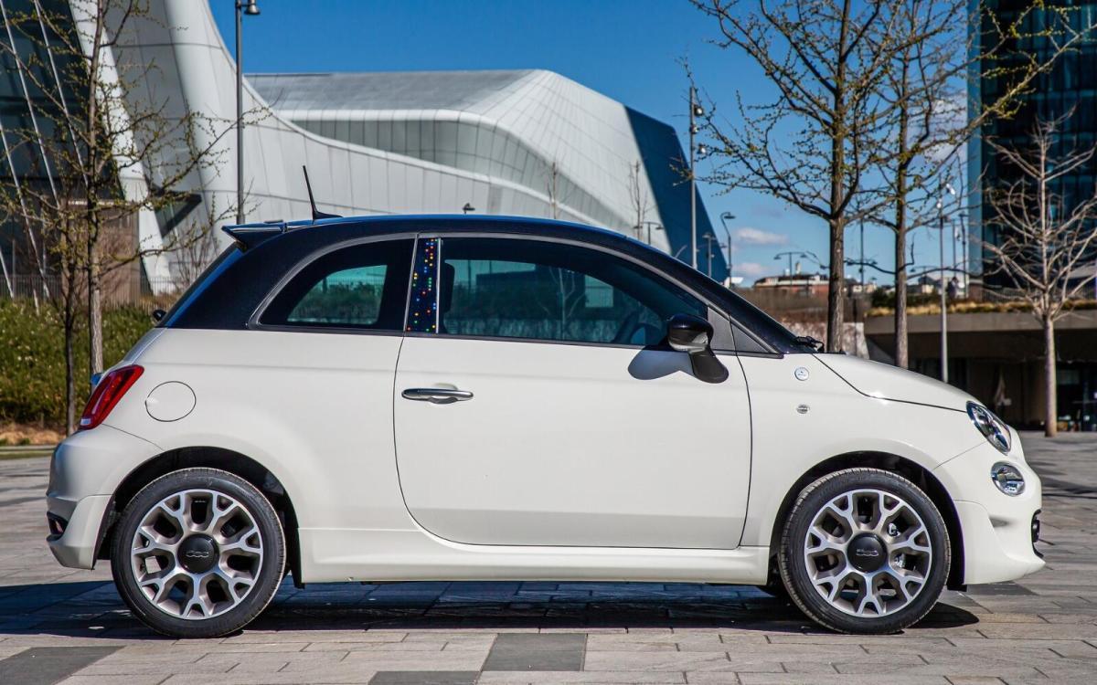 Fiat 500 Hey Google Header