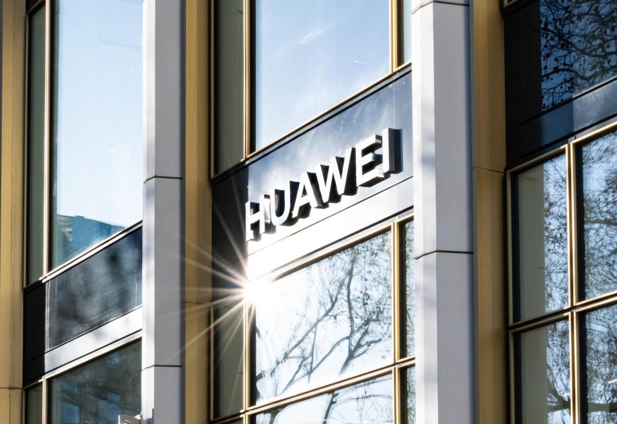 Huawei Store Logo Header