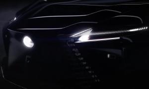 Lexus Elektro Konzept Teaser1
