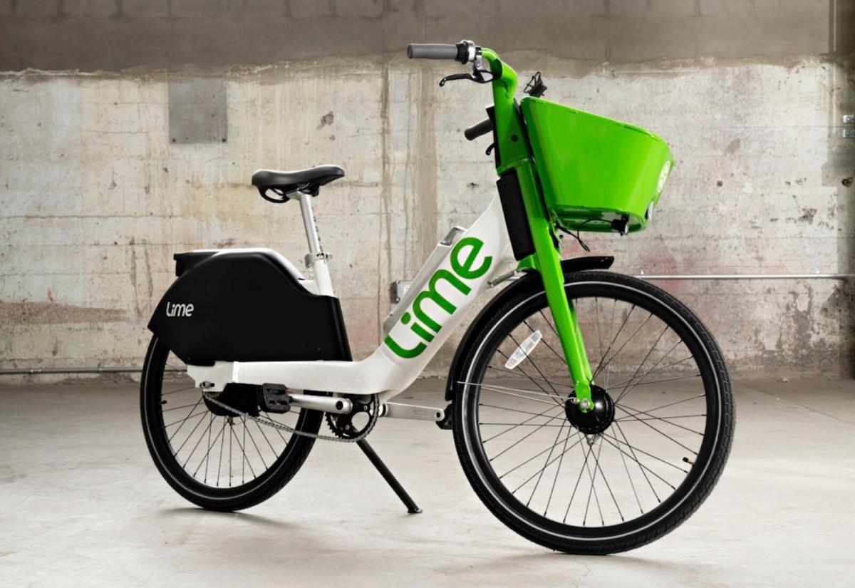 Lime E Bike Header