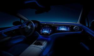 Mercedes Eq, Eqs, Interieur, Mbux Hyperscreen Mercedes Eq, Eqs, Interior, Mbux Hyperscreen