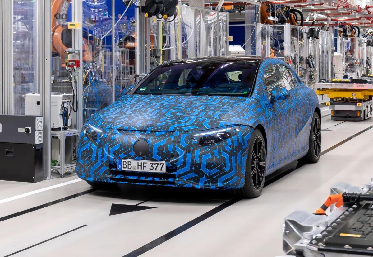 Mercedes Benz Eqs Produktion