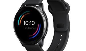 Oneplus Watch Schwarz