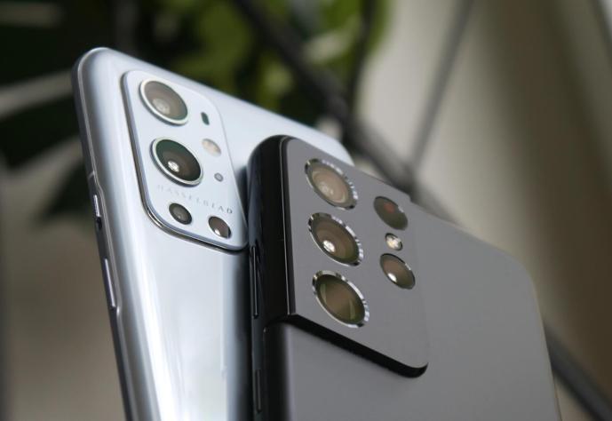 Samsung Galaxy S21 Ultra Oneplus 9 Pro Header